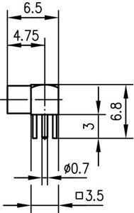 Разъем для печатных плат J01341A0031