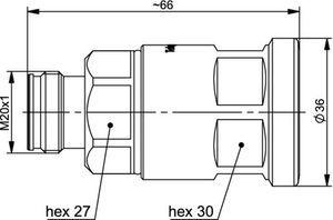 Разъем для фидерных кабелей J01441A0009.