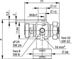 Грозоразрядник с четвертьволновым отрезком J01125B0030