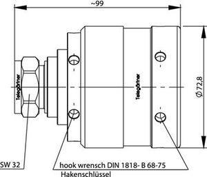 Разъем для фидерных кабелей J01120A0099