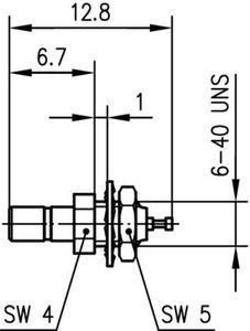 Разъем панельный J01190A0001