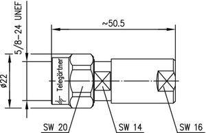 Разъем для фидерных кабелей J01020A0028