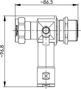 Грозоразрядник с четвертьволновым отрезком J01125A0041