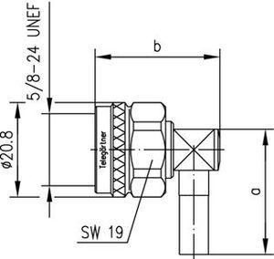 Разъем для фидерных кабелей J01020B0098